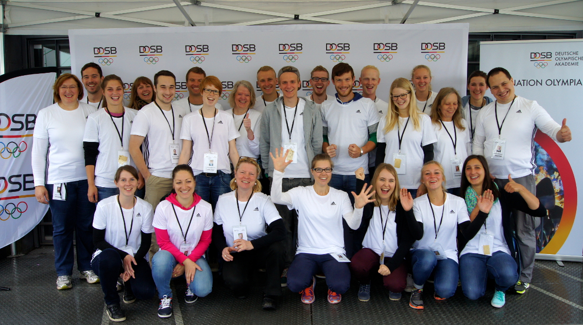 Olympic Day 2016 Volunteers