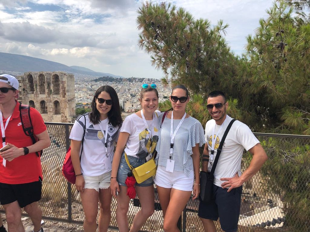 Sightseeing in Athen