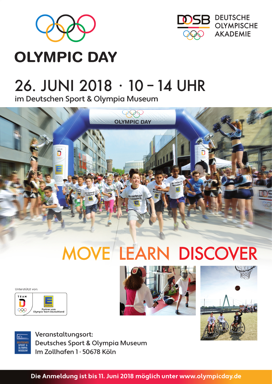 OlympicDay 2018 Plakat A1 online